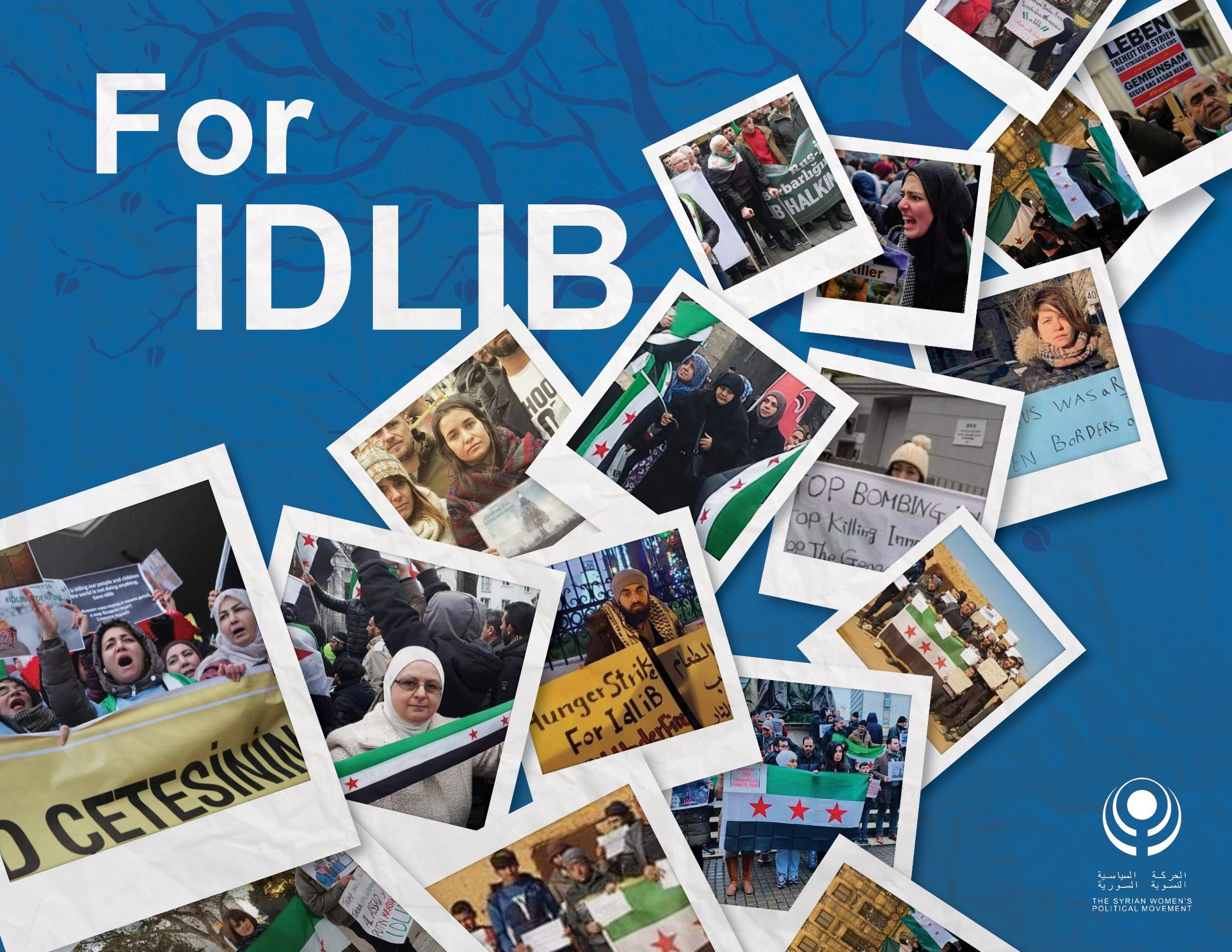 For Idlib, from all over the world…