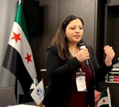Dima Moussa The Syrian Women's Political Movement Member