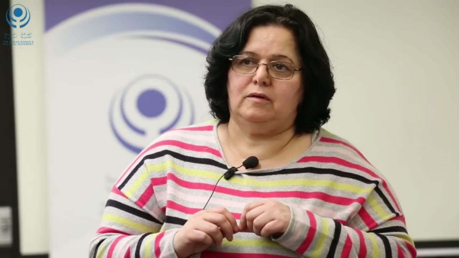 Lina Wafai The Syrian Women's political Movement Member