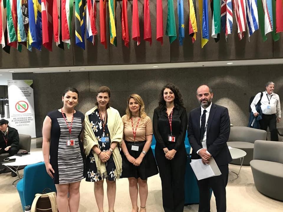 زيارة وفد الحركة السياسية النسوية السورية لأوتاوا كندا