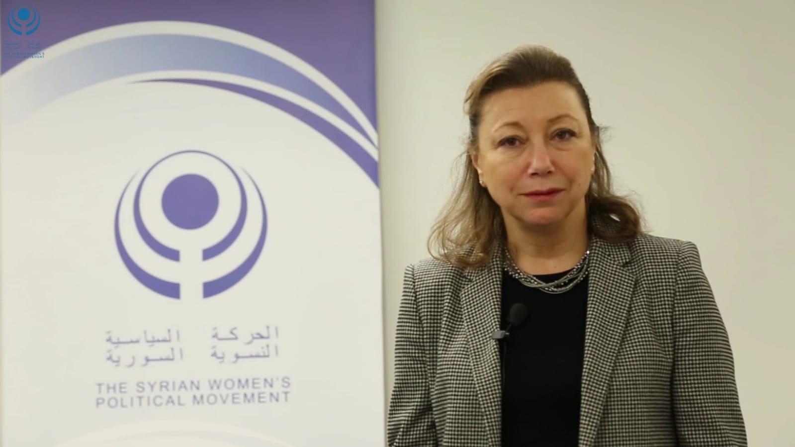 Bassma Kodmani The Syrian Women's Political Movement Member