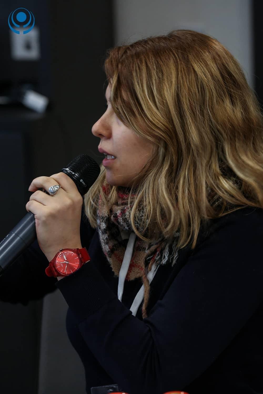 Muzna Dureid The Syrian Women's Political Movement Member