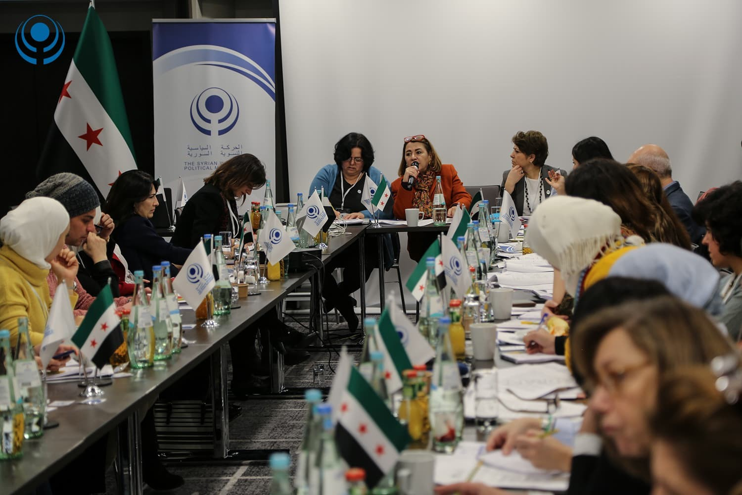 Political vision – The First General Assembly Meeting of the  Syrian Women's Political Movement 12-14 January 2019