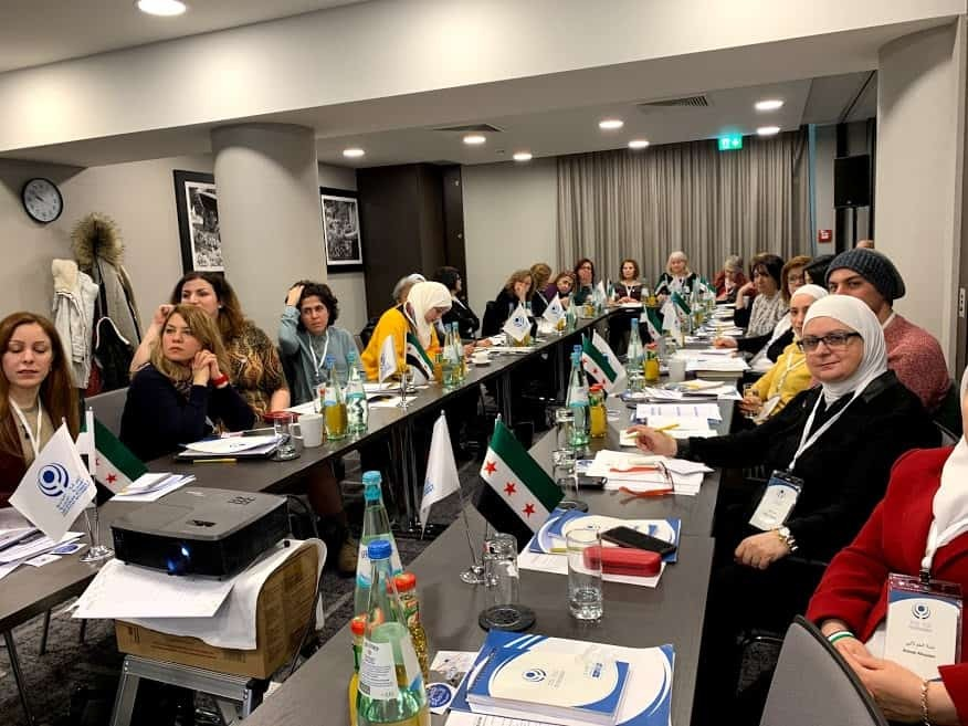 Final Communiqué  Syrian Women's Political Movement First General Assembly Meeting 12-14 January 2019