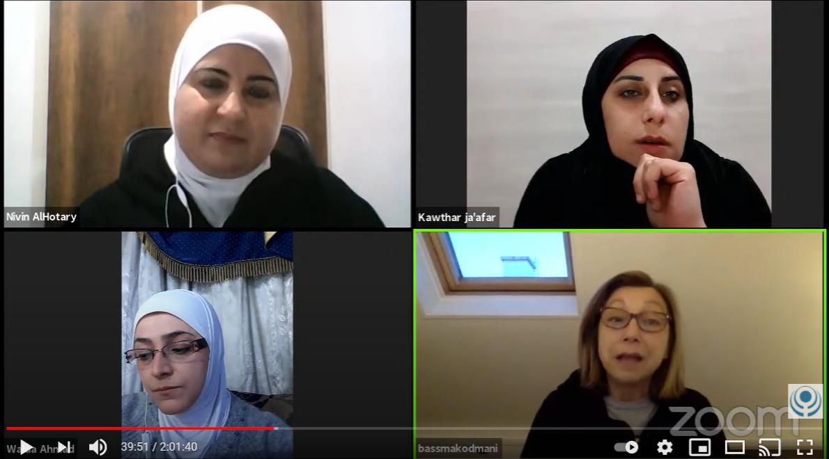 المنتدى السياسي: الدور النسوي في الواقع السوري من منظور النسويات في الداخل