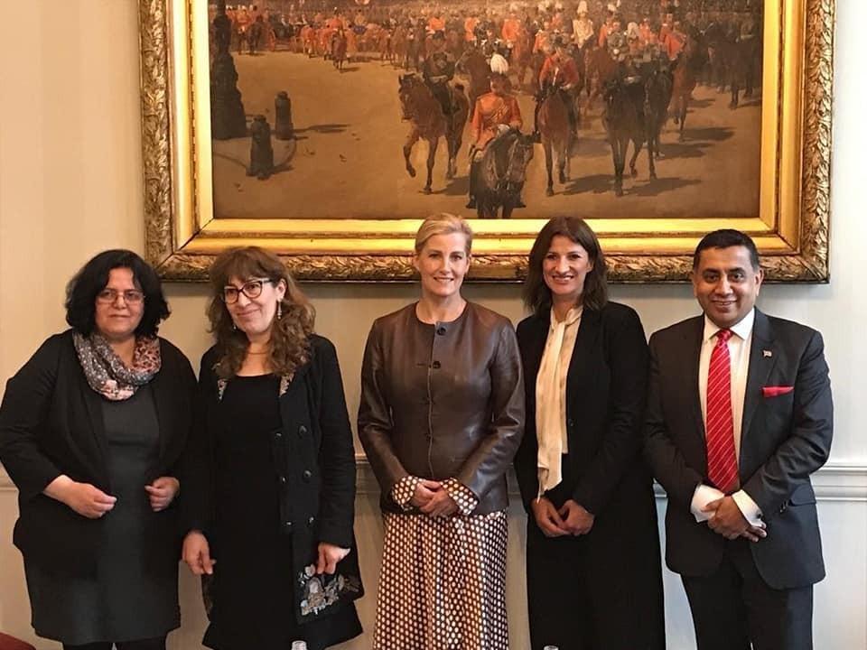 زيارة وفد الحركة السياسية النسوية السورية للمملكة المتحدة