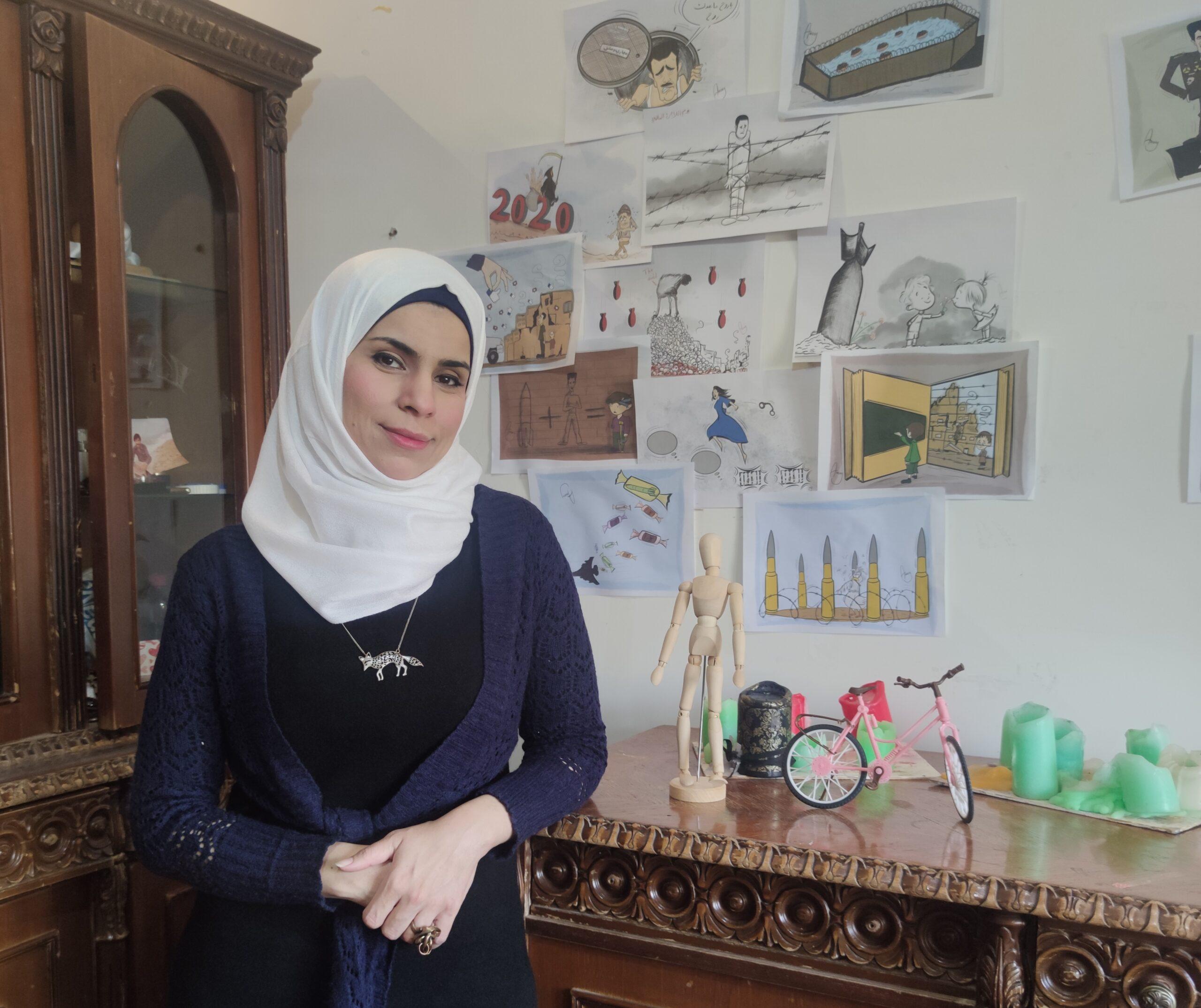 أصوات نسوية، مقابلة مع أماني العلي